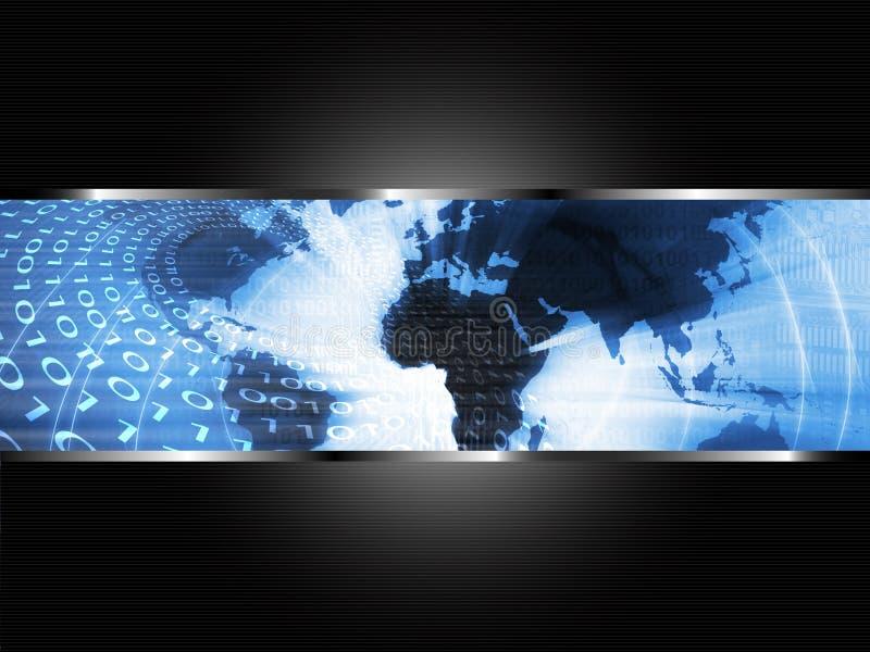 全球企业背景 向量例证