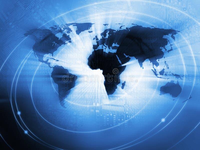 全球企业背景 皇族释放例证