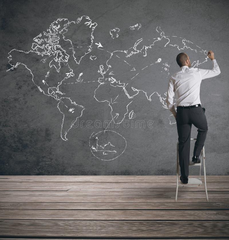 全球企业 免版税库存图片