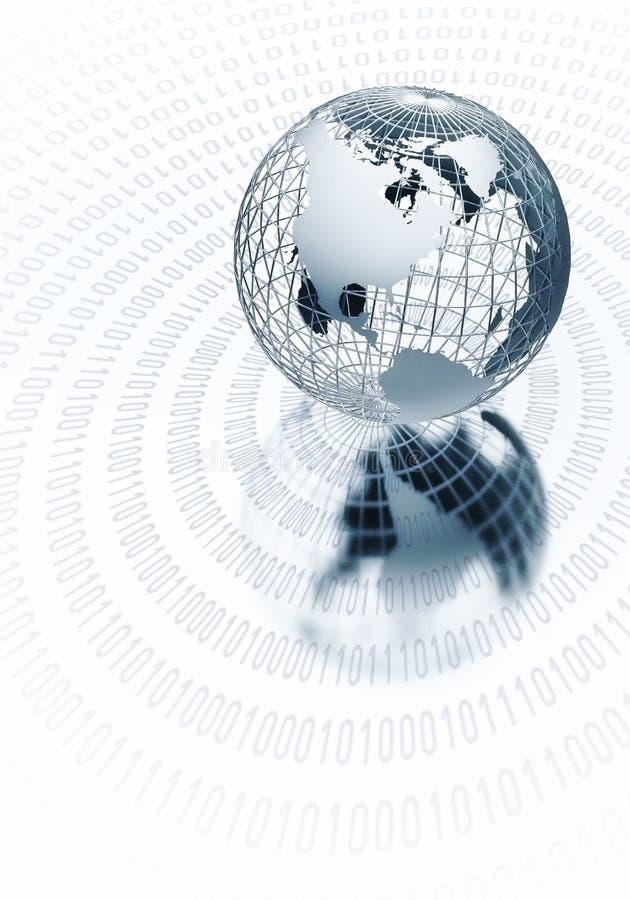 全球信息概念 库存例证