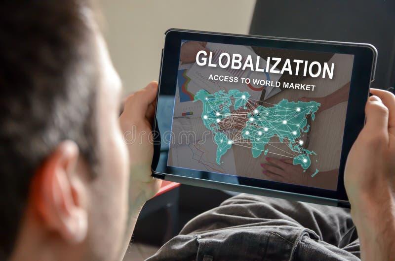全球化的概念 免版税库存图片