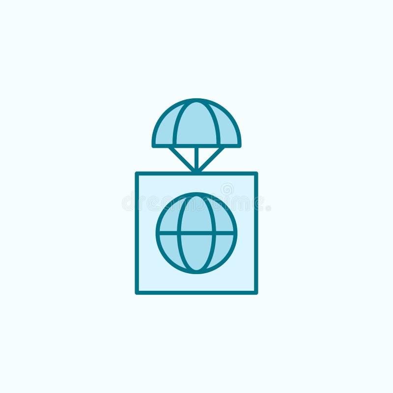 全球性前提领域概述象 向量例证