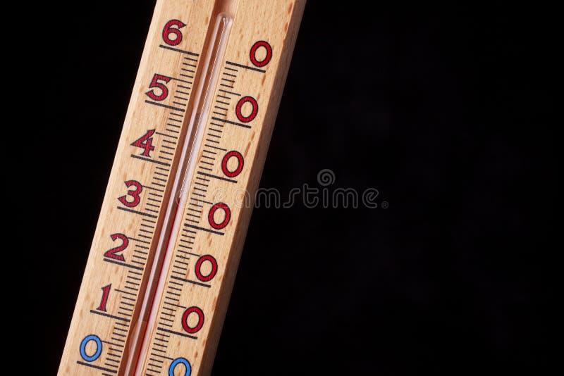 全球性变暖-温度计紧密  免版税图库摄影