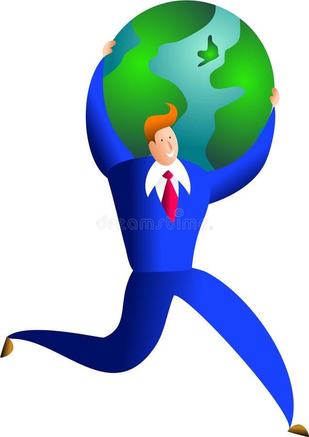 全球成功 皇族释放例证