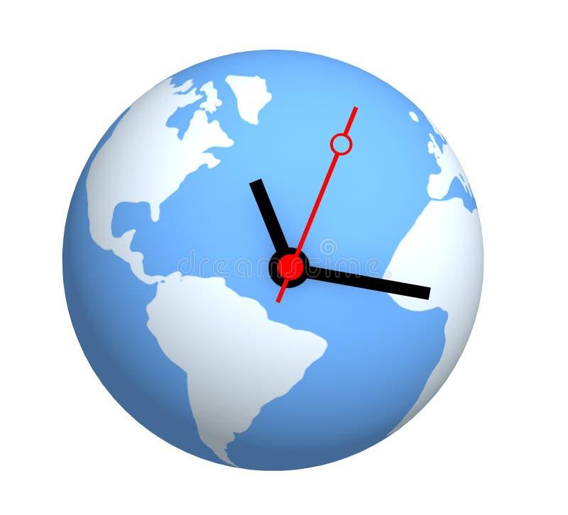 全球时间 皇族释放例证
