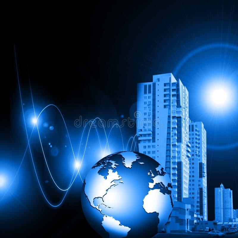 全球最佳的企业的概念 皇族释放例证