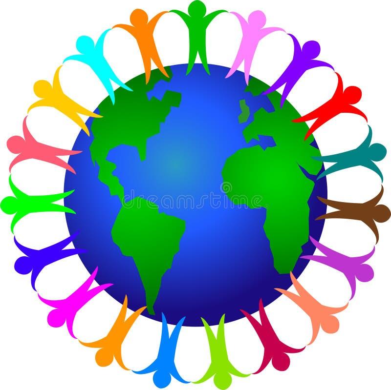 全球的分集eps 皇族释放例证