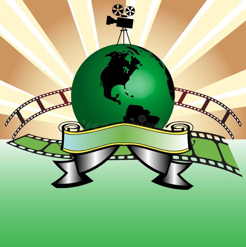 全球的戏院 向量例证