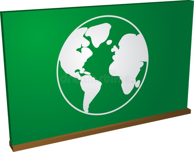 全球的教育 库存例证