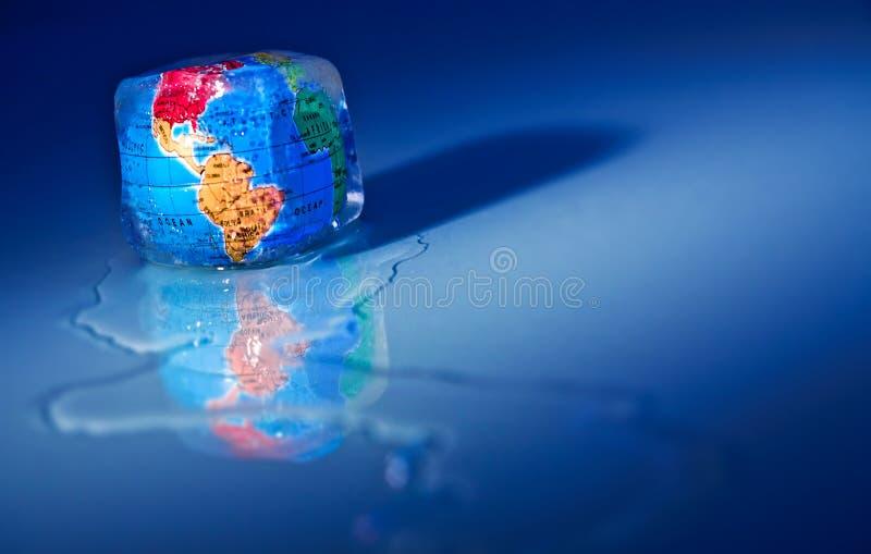 全球绿色温暖 库存照片