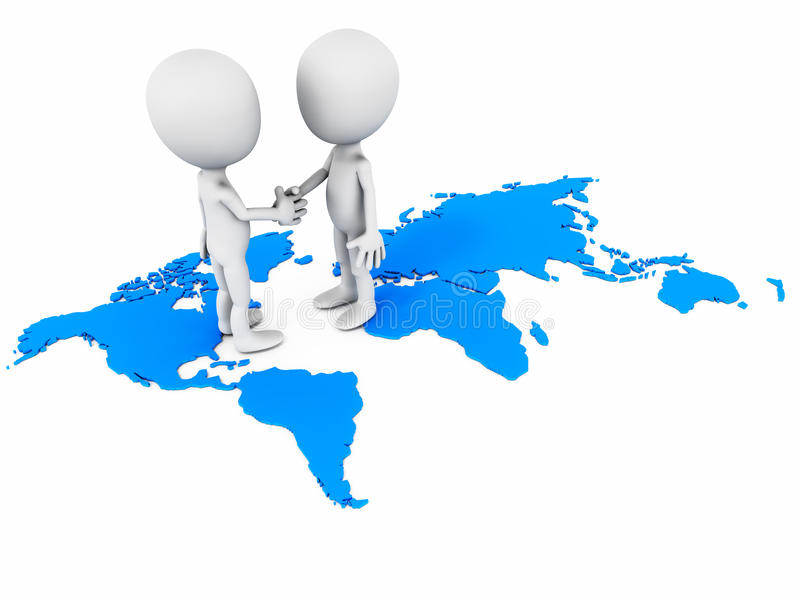 全球贸易 库存例证