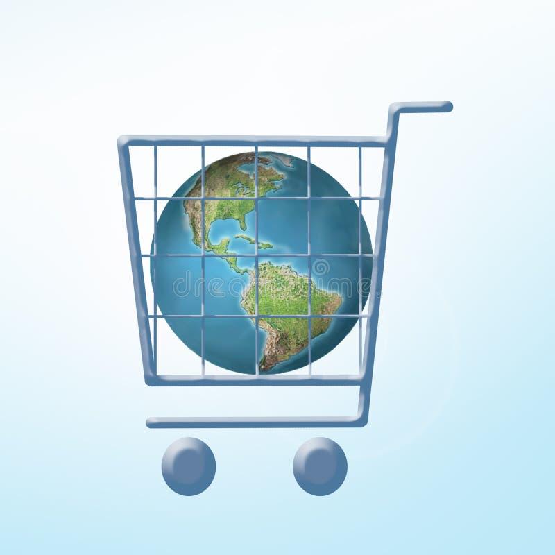 全球贸易 向量例证