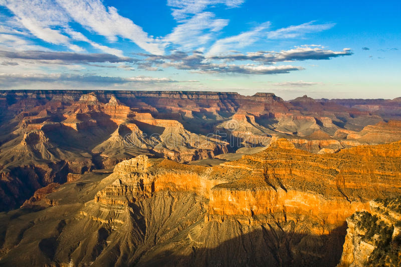 全部的峡谷 免版税库存图片