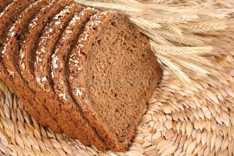 全部的普通小麦 免版税库存照片