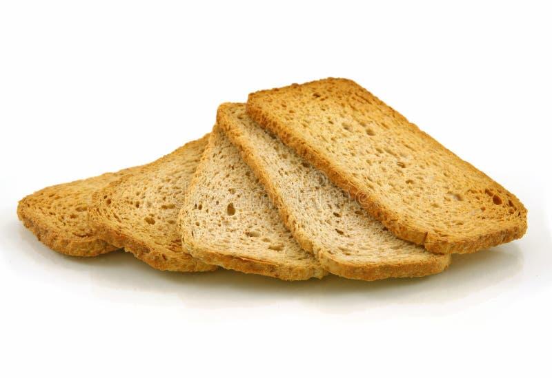 全部薄脆饼干的麦子 库存图片