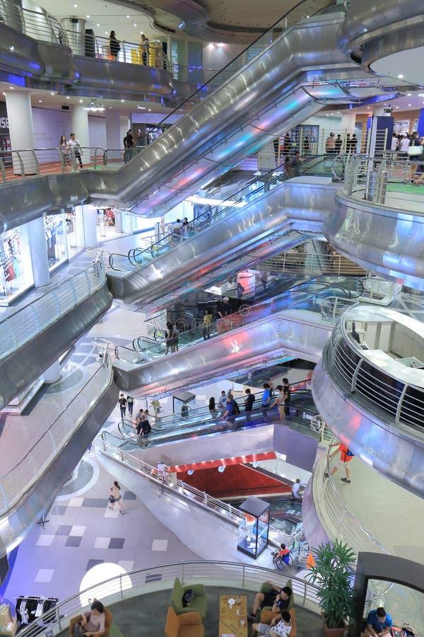 全部10商城吉隆坡 免版税库存照片