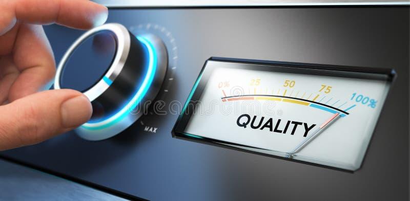全面质量管理, TQM 向量例证