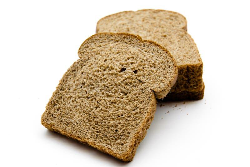 全麦的多士面包 免版税库存照片