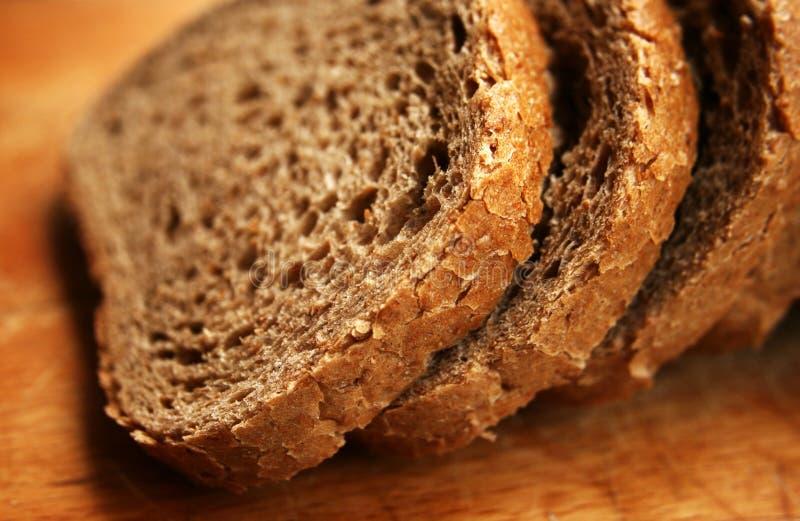 全麦面包 库存图片