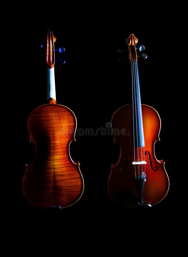 八字砖小提琴 免版税库存图片