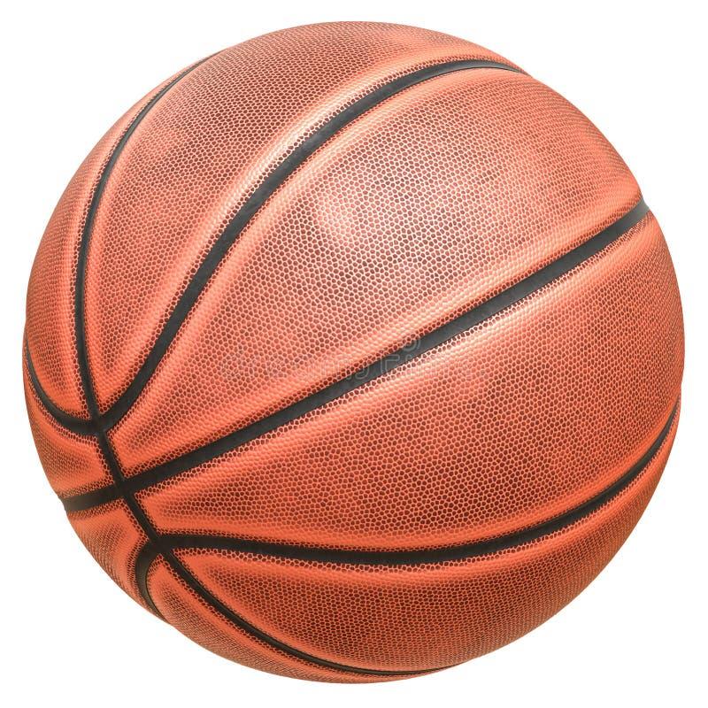 八盘区篮球球 免版税库存图片
