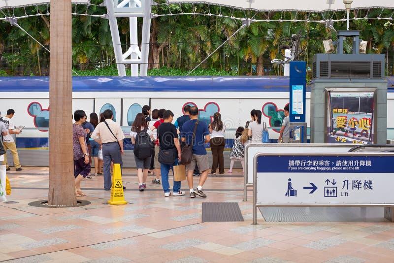 公交火车站 图库摄影