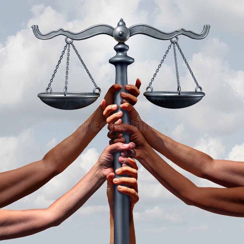 公共正义和法律 皇族释放例证