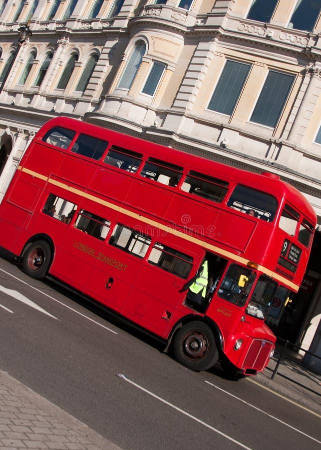 公共汽车伦敦routemaster 免版税库存图片