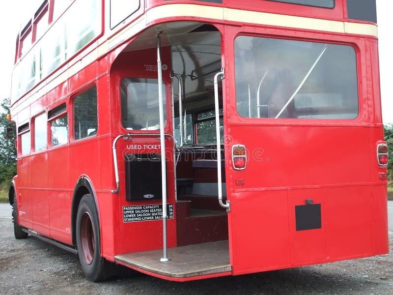 公共汽车分层装置双 图库摄影