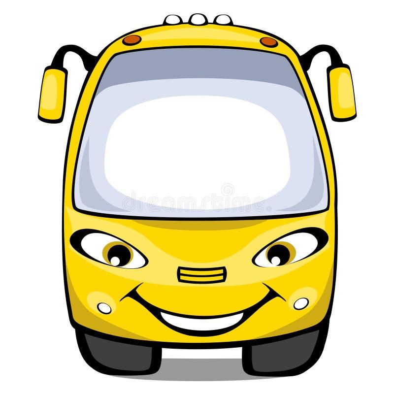 公共汽车动画片 皇族释放例证