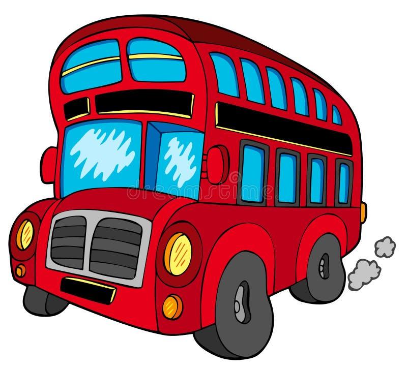 公共汽车双层甲板船 皇族释放例证