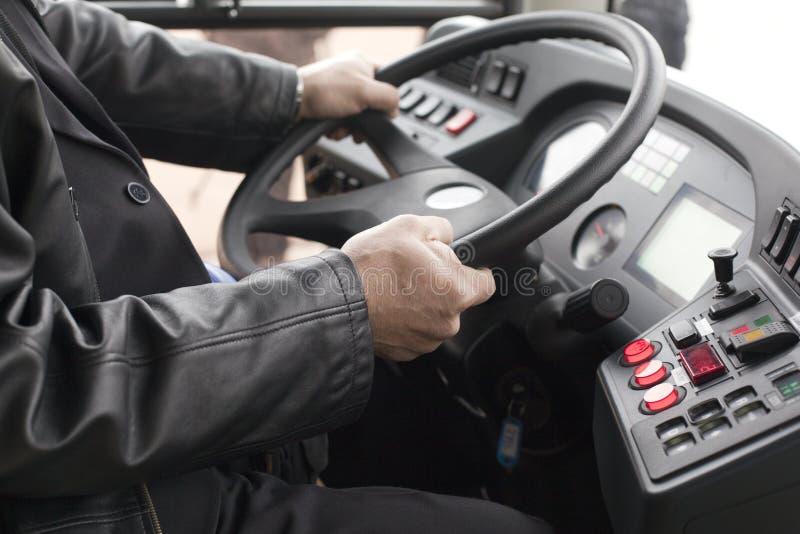 公共汽车司机 免版税库存图片