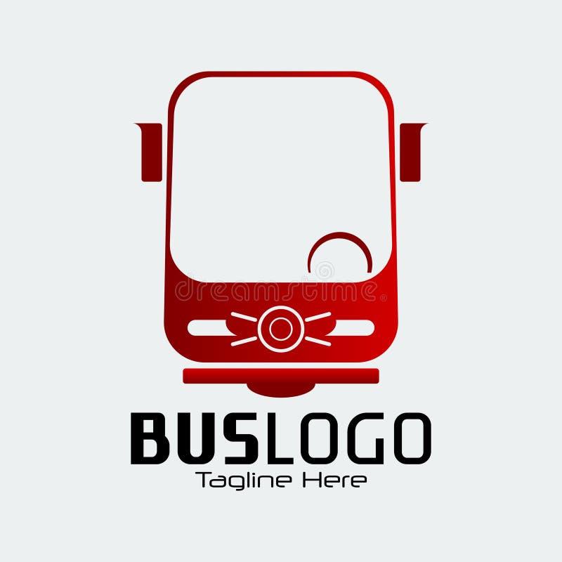 公共汽车商标 向量例证
