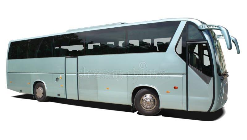 公共汽车教练 免版税图库摄影