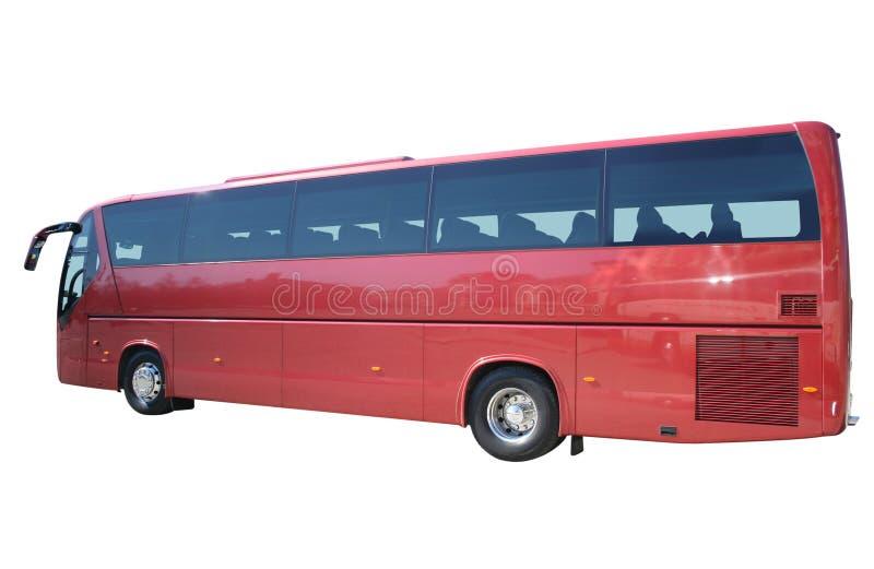 公共汽车红色 库存照片