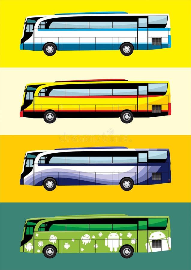 公共汽车设计题材 免版税库存照片