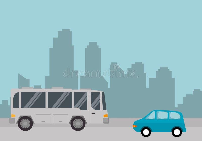 公共汽车运输公众象 皇族释放例证