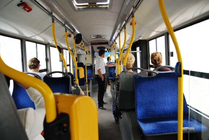 公共汽车 库存照片