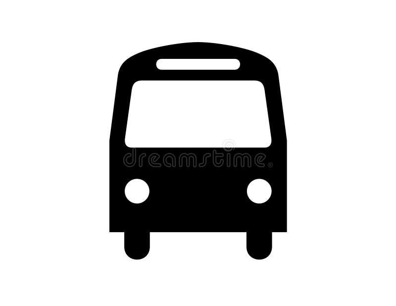 公共汽车 皇族释放例证