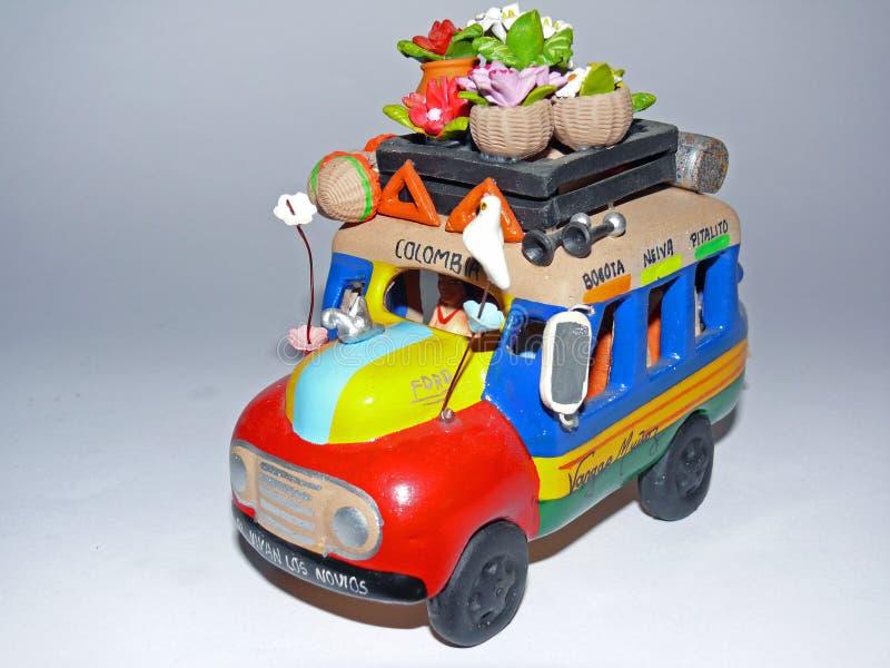 公共汽车handycraft 免版税库存照片
