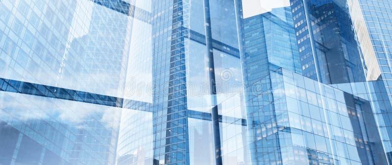 公司业务横幅背景,创新和高科技 免版税库存图片