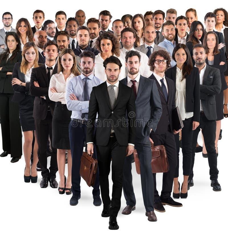 公司企业的队 免版税图库摄影