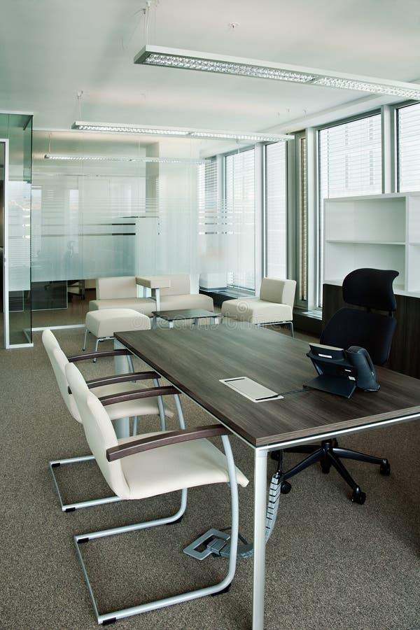 公司办公室视图 图库摄影