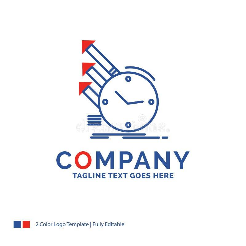 公司名称侦查的,检查商标设计,regulari 皇族释放例证