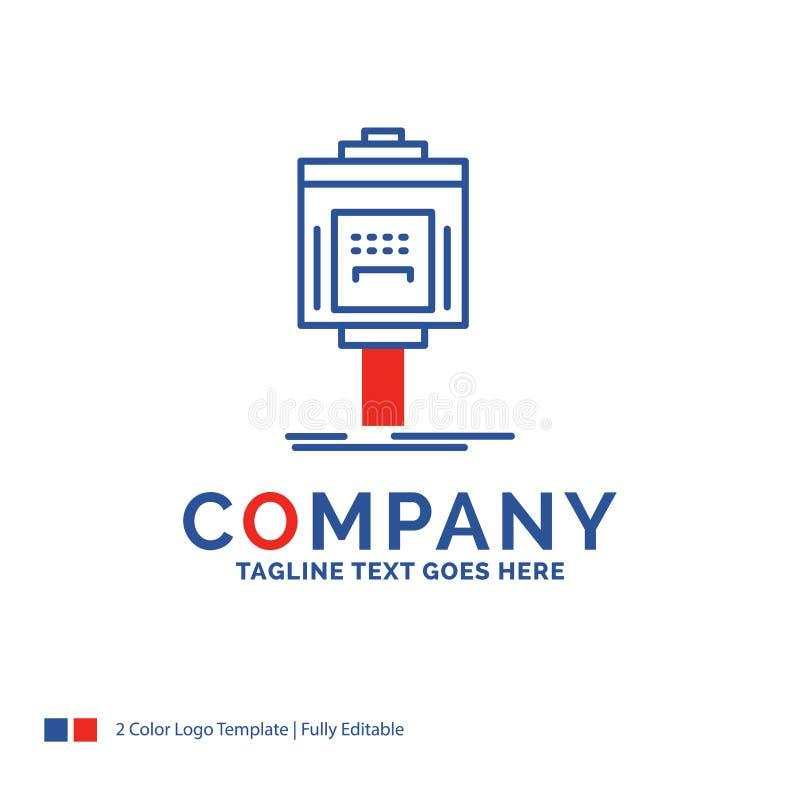 公司名称服务员的商标设计,停车处,服务,旅馆,val 皇族释放例证