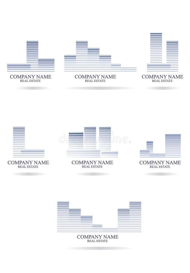 公司名称 向量例证