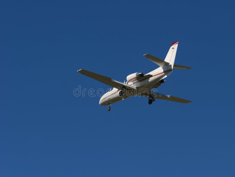公司喷气机 库存照片