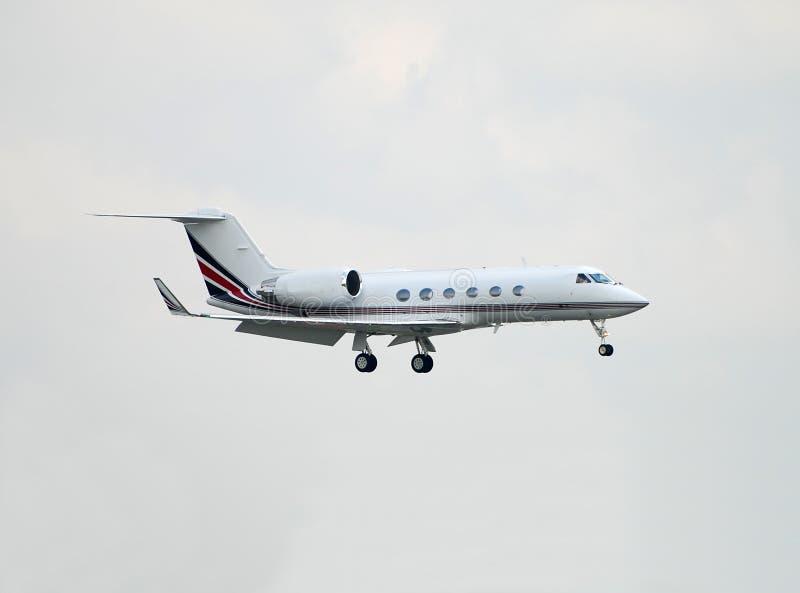 公司喷气机 免版税图库摄影