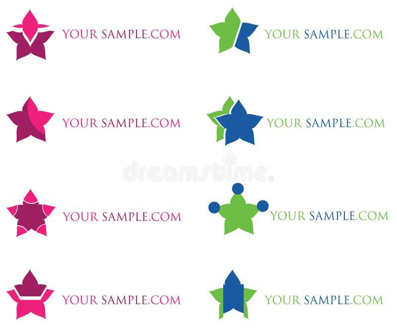 公司徽标的 免版税库存图片
