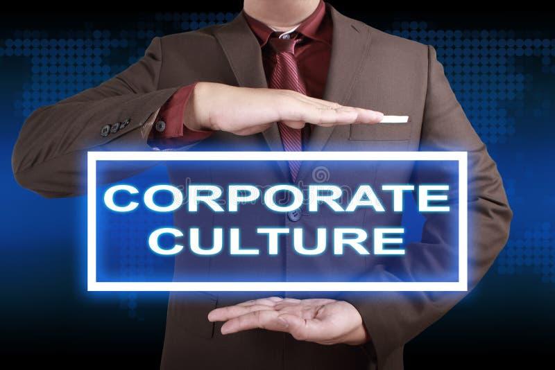 公司文化,诱导企业词行情概念 库存照片